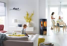 Wohnzimmer Modern Mit Ofen Kaminofen Modern