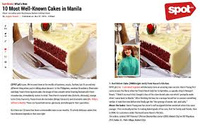 spot ph 10 most well known cakes in manila mar 2014 u2013 karen u0027s