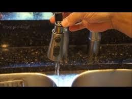 easy diy fix leaky kohler kitchen faucet pull down sprayer youtube