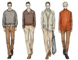 drawn man fashion illustration pencil and in color drawn man