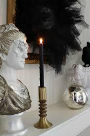 elegant spooky halloween home tour the house of silver lining elegant black and white halloween decor