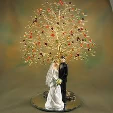 fall wedding cake toppers 23 best cake topper tree ideas images on wedding cake