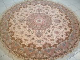 Fine Persian Rugs Large Round Tabriz Persian Rugs Carpets 1169