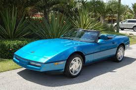 1989 corvette convertible fs 1989 medium blue corvette convertible in fl 10 900 obo