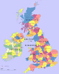 Counties In England Map by Civilization United Kingdom Esl Resources
