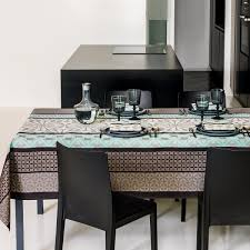 le jacquard francais bilbao enduite table linens