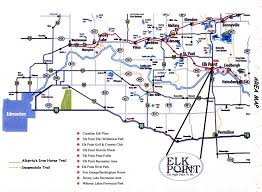 Map Alberta Canada by Maps Town Of Elk Point