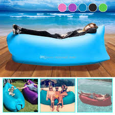 Inflatable Mattress For Sofa Bed by Inflatable Air Sleeping Bag Waterproof Lazy Sofa Bed Festival