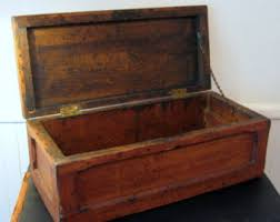 wooden chest etsy