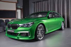 porsche brewster green carscoops bmw 7 series