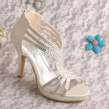 Wedding Shoes Off White Aliexpress Com Buy Wedopus Mw581 Wholesale Name Brand Custom