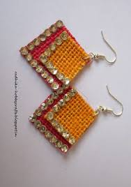 jute earrings 8 best jute and paddy images on jute burlap and