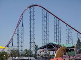 Six Flags Scary Rides Superman The Ride Six Flags New England Coaster Review