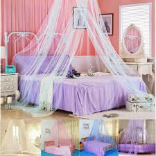 Outdoor Net Canopy by Suspended Ceiling Lace Bed Netting Canopy Soft Dome Bedding