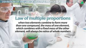 law of multiple proportions definition u0026 examples video