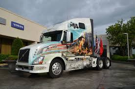 volvo 2013 truck new volvo memorial truck joins run for the wall trucking news online