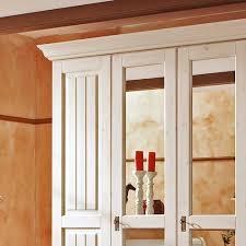 Schlafzimmer Schrank Amazon Landhausmöbel Romantischer Kleiderschrank In Weiß Aus Massivholz