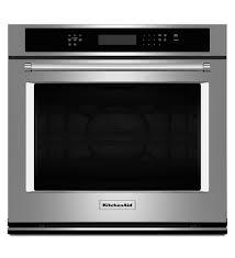 new kitchenaid single wall ovens all colors