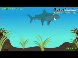 film kartun ikan hiu dunia air eps 03 kartun hiu animasi 2d youtube