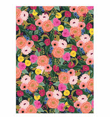 decorative wrapping paper juliet wrapping sheets by rifle paper co made in usa