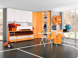 Childrens Bedroom Furniture Sets Unisex Children U0027s Bedroom Furniture Set Orange Sport Basket