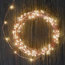 Starry String Lights Amber Lights On Copper Wire by 120 Led Outdoor Indoor Starry String Lights For Festival Gardens