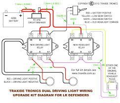 def combo hl u0026 driving light wiring kit traxide rv traxide rv