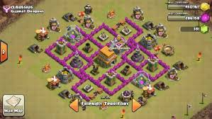 coc map layout th6 best th6 war base extreme design clash with clauss