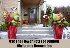 home made outdoor christmas decorations outdoor christmas decor homemade designcorner