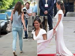 did pippa pad her u0027flat bottom u0027 for wedding ny daily news