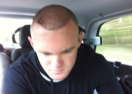 cool soccer hair rooney shows off his hair transplant before he probably should