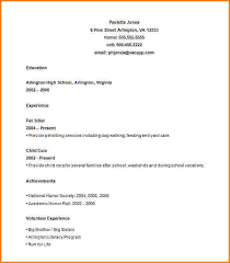 Resume Builder For Teens 10 Teenage Resume Template Skills Based Resume