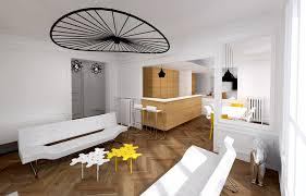 Architecte Petite Surface Chambre Decoration Piece A Vivre Extension M Et Amenagement La