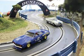 for the mancave life size camaro and porsche 917 slot car tracks