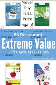 restaurant gift card deals best 25 gift cards for less ideas on my gift card