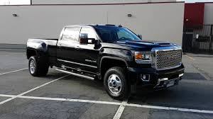 lifted gmc dually 2017 gmc sierra denali 3500 dually walk around and instrument