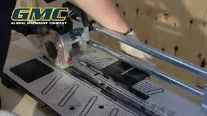 Saw For Cutting Laminate Flooring Gmc Instructional Ms018 Laminate Saw Youtube
