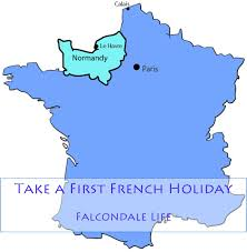 Le Havre France Map by Take A First French Holiday Falcondale Life