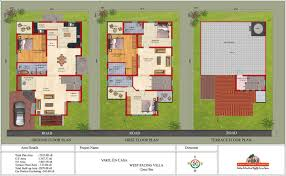 30x50 wf ef 3bhk duplex villa elevation pictures to pin on pinterest
