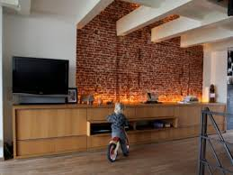 interior exposed brick wall insulating walls with foam board foam