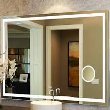 Bathroom Cabinets With Lights Modern Bathroom Mirrors Allmodern