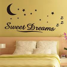 online get cheap wall decor letter aliexpress com alibaba group wall sticker letters sweet dreams moon stars quote wall decor for bedroom removable vinyl wall sticker