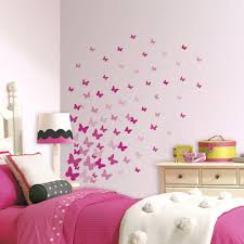 wall ideas wall decorating ideas for bedrooms cheap wall color wall tile ideas for small bathrooms full image for best coloring wall decals girls room 2 new pink flutter butterflies wall color ideas for basement wall