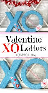 Valentine Home Decorations Valentine Xo Letters
