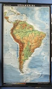 mb design gotha south america german map haack gotha town and country emporium