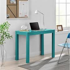 24 inch wide writing desk mainstays parsons desk with drawer multiple colors walmart com