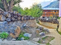 a walk in batseri village sangla quirky wanderer
