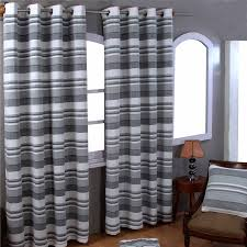 Terracotta Curtains Ready Made by Morocco Cotton Ribbed Striped Curtains Ready Made 9 Colours