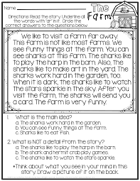2nd Reading Comprehension Worksheets Bossy R No Prep Printables R Controlled Vowels Reading