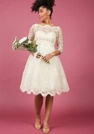 lace dress chi chi london gilded grace lace dress in ivory modcloth